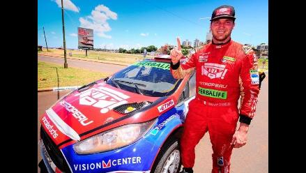 Nicolás Fuchs ya prepara el 2015 donde apuntará de lleno al Rally Mundial