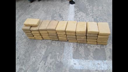 Pisco: incautan más de 74 kilos de alcaloide de cocaína