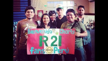 COP20: Charly Alberti brindó conferencia y agradeció al Perú