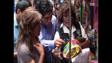 Arequipa: intensifican operativos contra venta de juguetes tóxicos