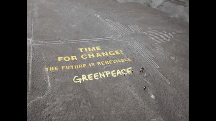 Líneas de Nasca: Acusan a Greenpeace de pisotear nuestra identidad