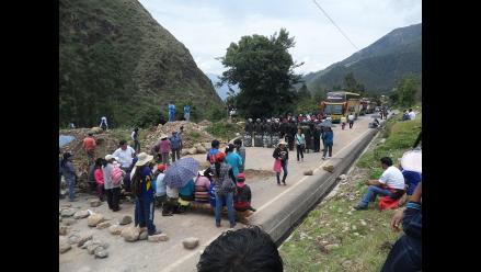 Apurímac: pobladores acatan paro total en carretera Ayacucho-Andahuaylas