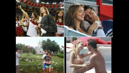 ¿Irina o Antonella Rocuzzo? Las novias de los mejores futbolistas de 2014