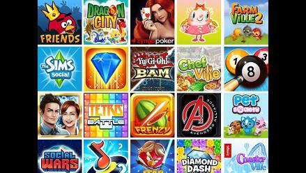 Facebook: Los mejores juegos del 2014 en la red social