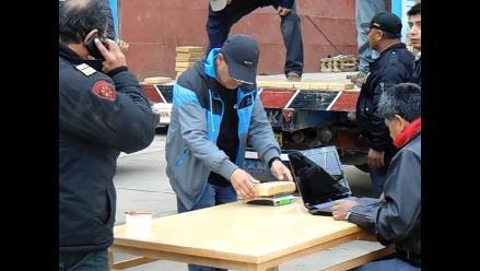 Huancayo: policía incauta 149 paquetes de clorhidrato de cocaína