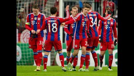 Bayern Munich cierra con goleada al CSKA la fase de grupos en Champions