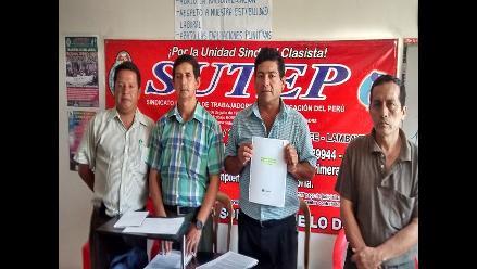 Chiclayo: dirigentes del Sutep se enfrentan por local institucional