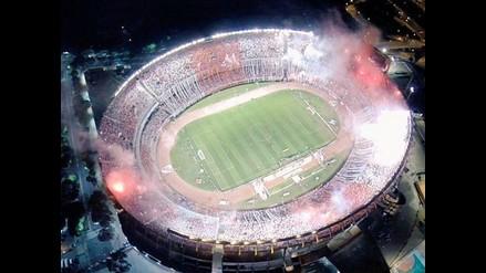 El Monumental luce espectacular en el River Plate vs. Atlético Nacional