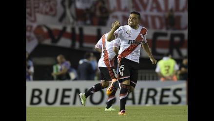 River Plate: Mercado anotó el 1-0 ante Atlético Nacional por Sudamericana