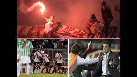 La fiesta de River Plate campeón de la Copa Sudamericana 2014 en imágenes