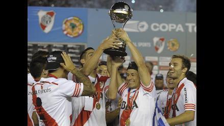 River Plate y la impresionante vuelta olímpica tras ganar Copa Sudamericana