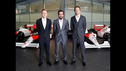 Fórmula Uno: McLaren hace oficial el fichaje de Fernando Alonso