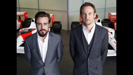 Jenson Button: Es un privilegio correr con Fernando Alonso en McLaren