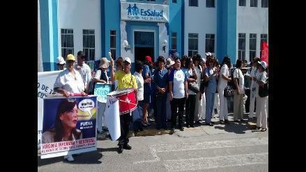 Red Asistencial de Lambayeque se unió al paro nacional de 48 horas