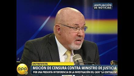 Martín Belaunde Lossio: Bruce dice que Figallo se equivocó al ir con asesor