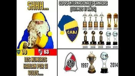 Copa Sudamericana: Hinchas de Boca Juniors dedican memes a River Plate