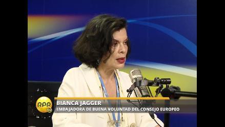 COP20: Bianca Jagger expresa poco optimismo para alcanzar acuerdo