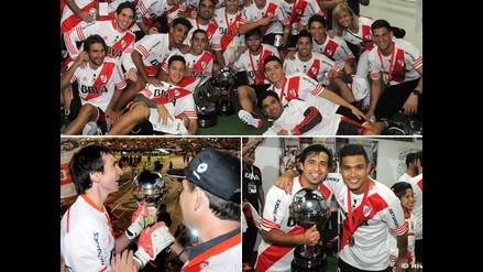 River Plate y las imágenes íntimas del festejo del campeón que no viste