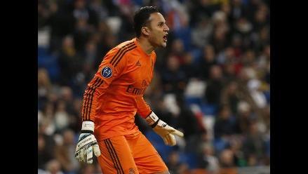 Keylor Navas: Disfruté mucho de la Champions League