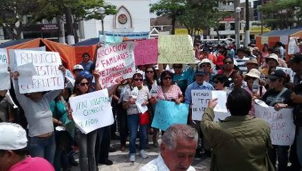 Chimbote: colectivo anuncia paro regional si no restituyen a Vilcatoma