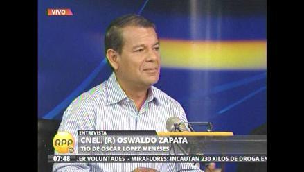 Oswaldo Zapata: López Meneses financió bastón de mando de Humala
