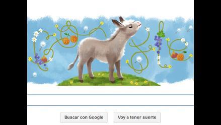 Google dedica doodle a los 100 años de Platero y yo