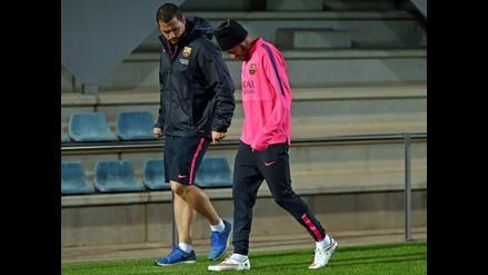 Neymar será baja por precaución en el Getafe vs. Barcelona por la Liga