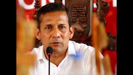Humala confirmó devolución de bastón financiado por López Meneses