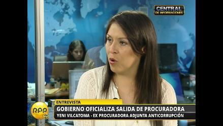 PNP duplicará resguardo a exprocuradora Vilcatoma por pedido de Urresti