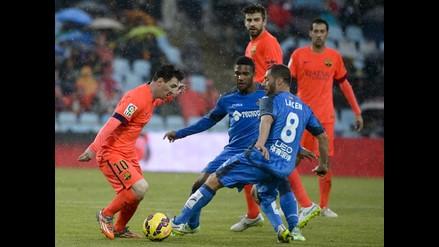 Barcelona vs. Getafe: Lionel Messi no puede evitar el 0-0 de su equipo