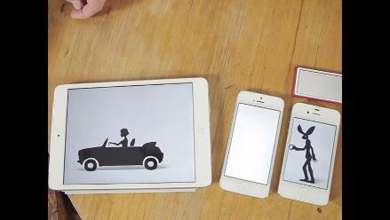 YouTube: graban en 14 pantallas Apple un videoclip
