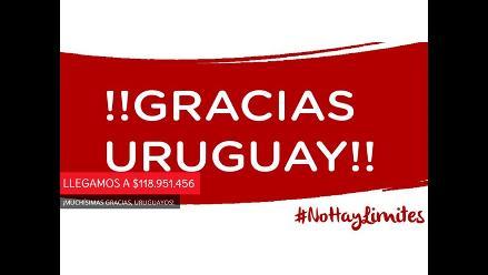 Teletón Uruguay logra casi 5 millones de dólares para niños con discapacidad