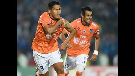 Gol de Andy Pando nominado como el mejor de la Copa Sudamericana