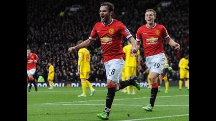 Manchester United 3-0 Liverpool: clásico inglés fue para los ´Red Devils´