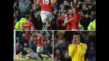 Manchester United 3-0 Liverpool: revive lo mejor del clásico inglés