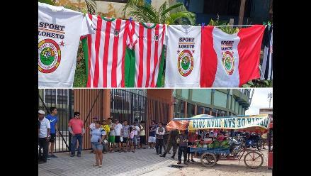 Copa Perú: Hinchas de Sport Loreto viven a su manera la previa de la final