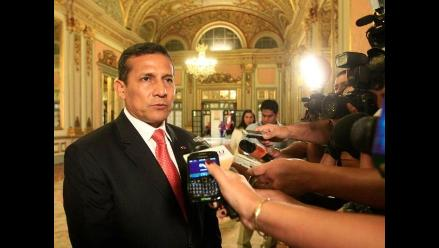 ¿Urresti al 2016? Humala se incomodó al ser consultado sobre el tema