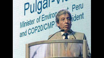 Ministro del Ambiente asegura que COP20 fue todo un éxito