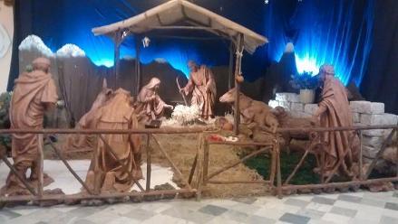 Arequipa: nacimiento de ´tamaño natural´ se exhibe en la Basílica Catedral