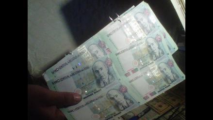 Intervienen a sujeto con billetes falsos en la provincia de Anta