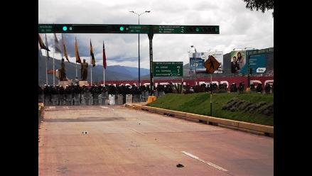Pocos pobladores de Calca quedan cerca al aeropuerto del Cusco