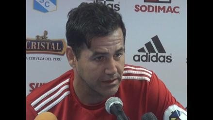 Daniel Ahmed: Me veo abrazándome con mi cuerpo técnico, jugadores y familia