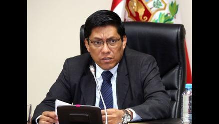 Comisión Orellana acuerda levantar secreto bancario de alcalde de Lurín