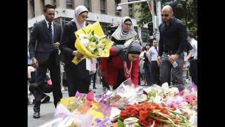 Sídney: Miles de ramos de flores para recordar a víctimas del secuestro