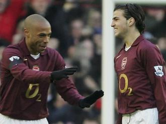 Fábregas sobre Thierry Henry: Fue uno de los mejores con los que he jugado