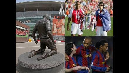 Thierry Henry y su adiós: Diez datos que debes saber del goleador francés