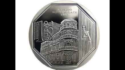 BCR lanzó nueva moneda de un sol alusiva al antiguo Hotel Palace