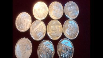 Arequipa cuenta con 600 mil monedas de la nueva colección