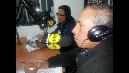 Huancayo: dirigentes y autoridades en contra de la Nueva Ley de Trabajo
