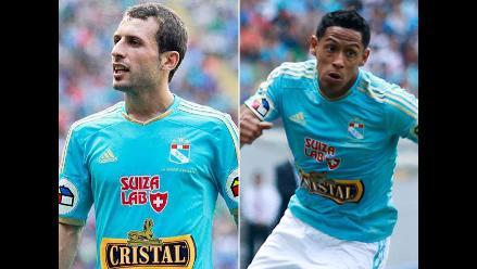 Sporting Cristal: Horacio Calcaterra y Paolo De la Haza no jugarán la final